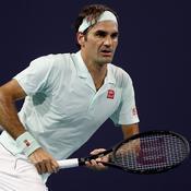 Miami : Pour Federer, «un service d'Isner, c'est comme un penalty au football»