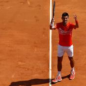 Monte-Carlo : Après sa mise en route laborieuse, Djokovic se rassure