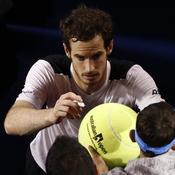 Murray refuse d'abdiquer face à Djokovic