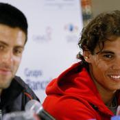 Novak Djokovic et Rafael Nadal