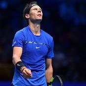 Nadal termine sa fantastique saison 2017 sur une grimace