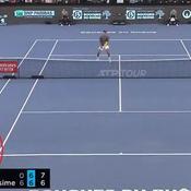 Tennis : avec un superbe lob entre les jambes, Herbert signe un des points de l'année