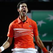 Djokovic remporte un combat de titans face à Del Potro