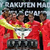 Coupe Davis : un fantastique Nadal offre le sacre à l'Espagne