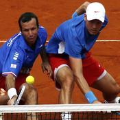 Radek Stepanek et Tomas Berdych