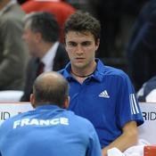 Gilles Simon Guy Forget Coupe Davis
