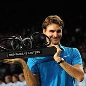 Bercy, Federer trophée