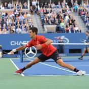 Djokovic trop court