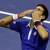 Djokovic embrasse le ciel