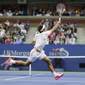 Federer tente tout