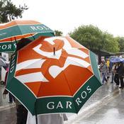 Roland-Garros, parapluie