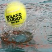 Roland-Garros, pluie