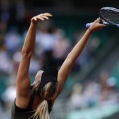 Roland-Garros : Sharapova joie