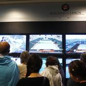 Roland-Garros, tribunes