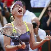 Sharapova, le doublé en tête