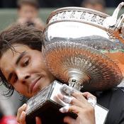 Rafael Nadal-trophée
