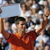 L'ovation pour Djokovic