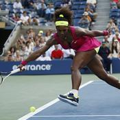 Serena balle ligne