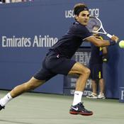 Federer débordé