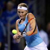 Fed Cup : Mladenovic balaie Flipkens et égalise pour les Bleues