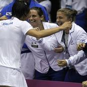 Francesca Schiavone Fed Cup