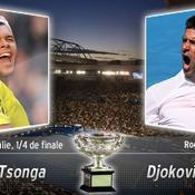 Jo-Wilfried Tsonga / Novak Djokovic