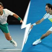 Djokovic le maitre des lieux face à l'homme du moment Medvedev : une finale de l'Open d'Australie qui promet