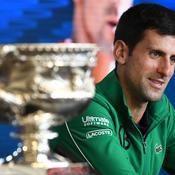 Djokovic: «On ne peut pas profiter d'un succès en Grand Chelem»