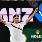 Vingtième sacre en Grand Chelem pour Federer