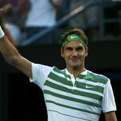Impérial, Federer poursuit sa promenade de santé
