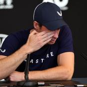 Les larmes de Murray face aux journalistes