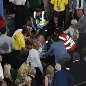 Malaise dans les tribunes, le match Nadal-Dimitrov interrompu