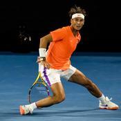 Open d'Australie : Installé dans le grand 8, Nadal semble avoir oublié ses problèmes de dos