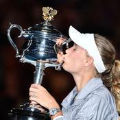 Premier titre du Grand Chelem et place de numéro 1 mondiale pour Wozniacki
