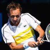 Open d'Australie : Medvedev écœure Rublev et rejoint le dernier carré