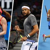 Où en sont les Français à 8 jours de l'Open d'Australie ?