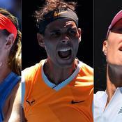 Sharapova, Nadal, Mladenovic : ce qu'il faut retenir de la nuit à Melbourne