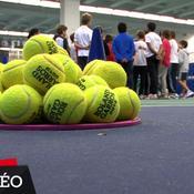 Au coeur de Roland-Garros avec les ramasseurs de balles