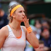Victoria Azarenka s'est facilement qualifiée pour les quarts de finale.