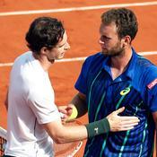 Andy Murray et Mathias Bourgue