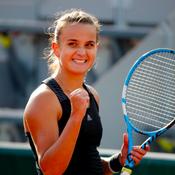 Clara Burel toujours dans le vent à Roland-Garros