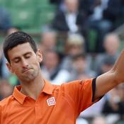 Djokovic s'est fait une petite frayeur