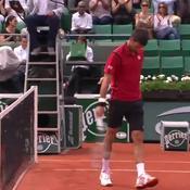 Djokovic veut la jouer finement ... et s'agace