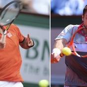 Djokovic-Wawrinka, duel pour un lauréat inédit à Paris