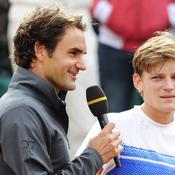 Roger Federer et David Goffin