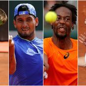David Ferrer, Nick Kyrgios, Gaël Monfils, Andy Murray