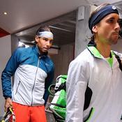 Rafael Nadal et David Ferrer