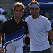Gasquet et Nadal à l'US Open en 2013