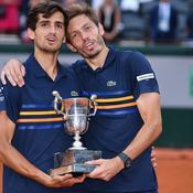 Roland-Garros : Herbert et Mahut dessinent un petit coin de ciel bleu