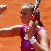 Kvitova : «Pas de grandes attentes»